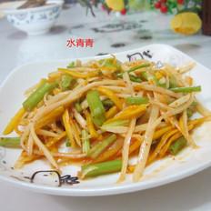 拌土豆南瓜丝