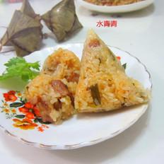 葱香猪肉糯米粽