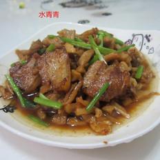 干萝卜炒五花肉