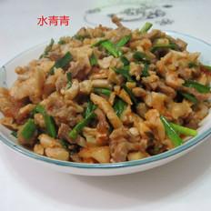 萝卜干炒肉