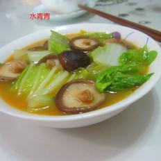 白菜煮香菇