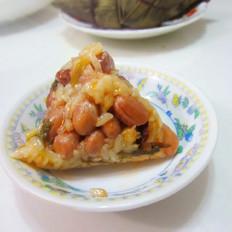 猪肉糯米花生粽