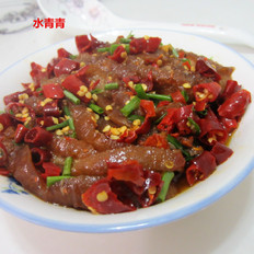 干辣椒蒸肉