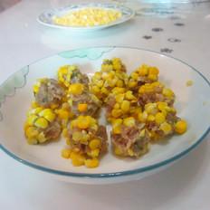 甜玉米丸子