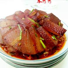 干豆角蒸腊肉