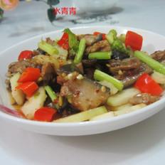 生鲜榨菜炒驴肉
