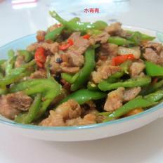 豆豉辣椒炒肉