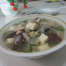 猪骨粉皮豆腐猪血汤