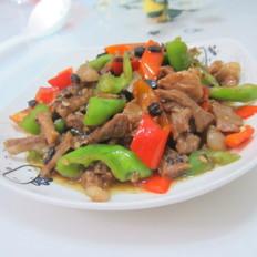 黑豆豉炒瘦肉
