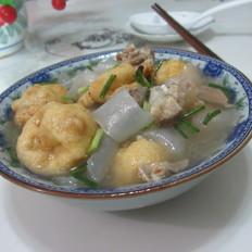 骨汤粉皮油豆腐