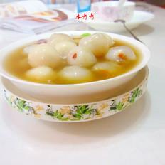 红糖荔枝汤丸