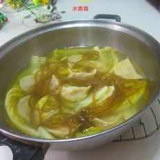 白菜粉丝饺子