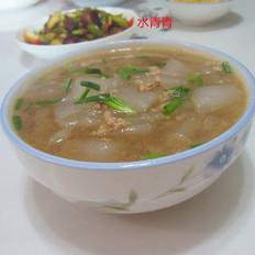 肉末粉皮汤