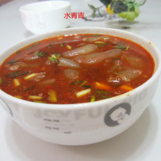 豆瓣酱粉皮汤