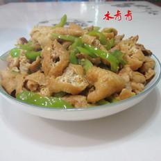 炒油豆腐丝