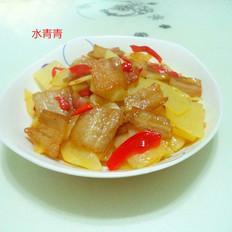 土豆五花肉片