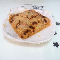 红豆红枣猪肉糯米饭团