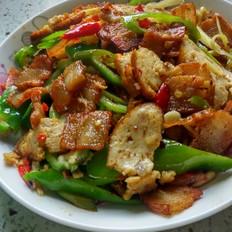 青椒五花肉片