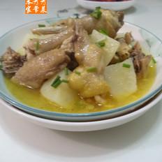 土豆三黄鸡