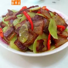 莴笋腊肉片