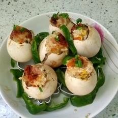五香糯米蛋的做法