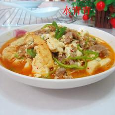 瘦肉烧豆腐