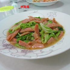 白菜火腿丝
