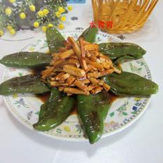 煎辣椒烧豆腐丝
