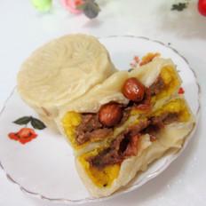 花生豆沙饼