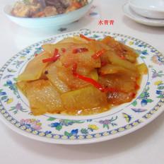 红烧冬瓜片的做法