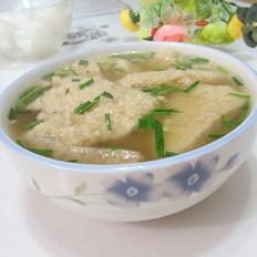 韭菜豆腐渣