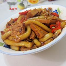 香干米虾炒粉条