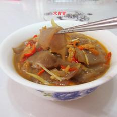 子姜剁椒魔芋豆腐