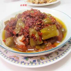 酸辣椒蒸东坡肉