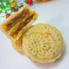 芝麻豆沙馅月饼