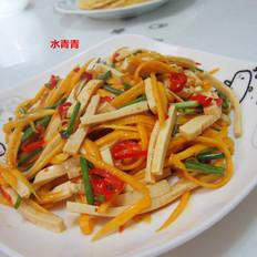 南瓜豆腐丝