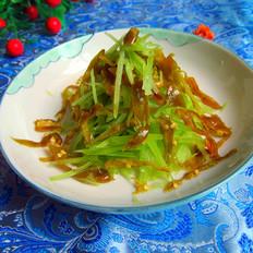 酸辣椒拌莴笋丝