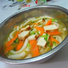 豆腐胡萝卜煮粉