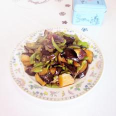 尖椒炒茄子