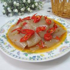 油辣蘑芋豆腐