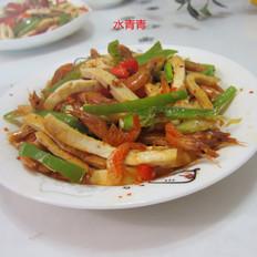 河虾豆腐丝