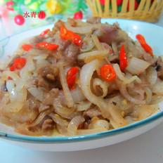 尖椒洋葱肉