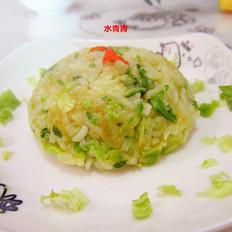 白菜咖喱炒饭