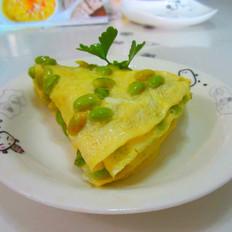 黄豆鸡蛋饼
