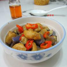 茄子油豆腐