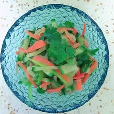 开胃爽口水果萝卜