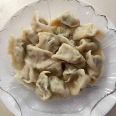 韭黄馅饺子