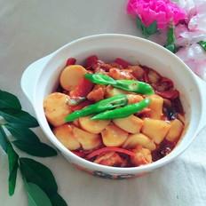 虾仁烩日本豆腐