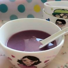 紫薯山药糊