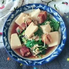 红烧肉烩豆腐